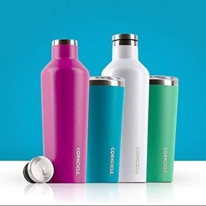 corkcicle Dining - Corkcicle pink 25 oz waterman canteen